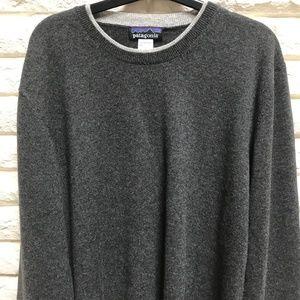 Men's Patagonia 100% cashmere pullover sweater L